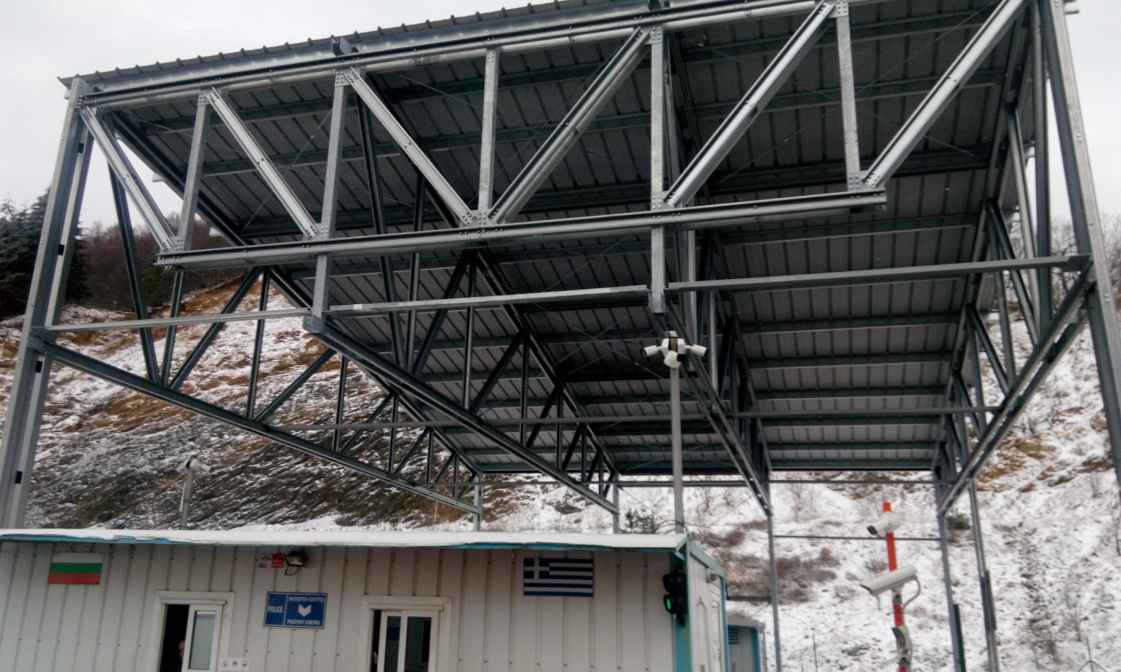 КПП Маказа - покрив